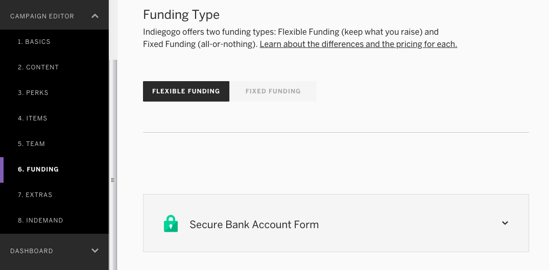 How to Set Up a Bank Account – Indiegogo Help Center